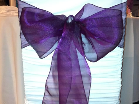 organza purple