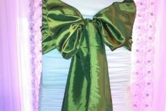 taffeta kimono olive green
