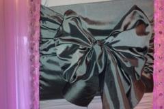 taffeta kimono pewter