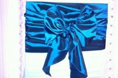taffeta kimono teal
