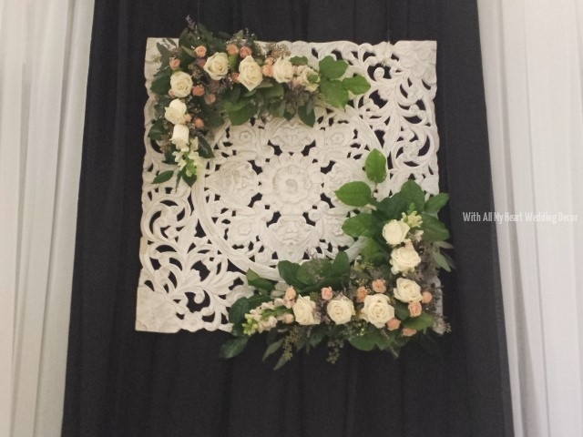 Backdrop Floral Frame
