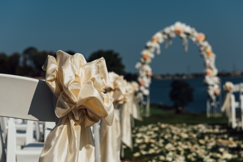 aisle ceremony arch