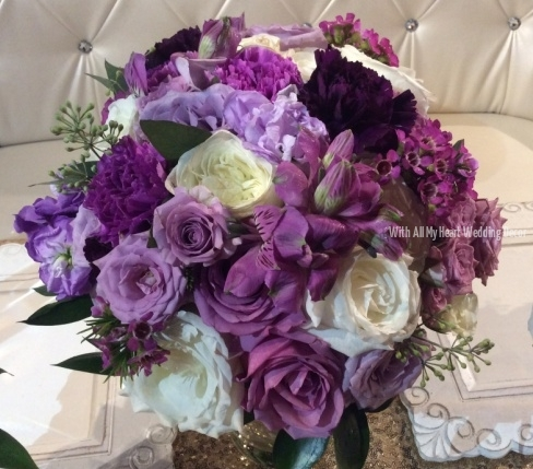 bouquet purples