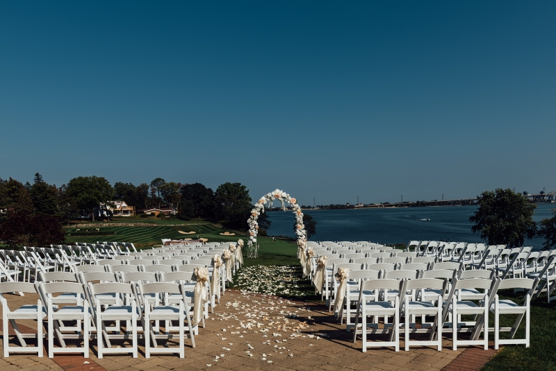 ceremony and arch
