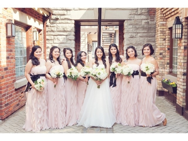 9a bridal party florals