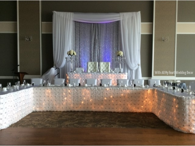 7a u shape head table st josephs oakville ontario