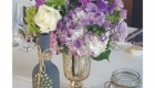 guest table centerpiece florals