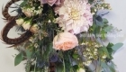 17a wild garden look bridal bouquet