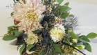 garden look maid of honour bouquet