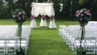 Outdoor ceremony LA Salle Park