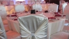 Reception Guest Table with Head Table View