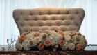 florals and love seat