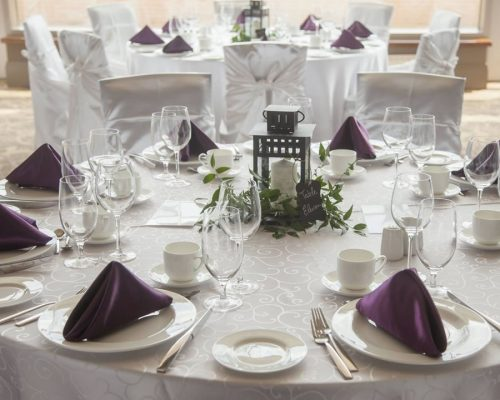 damask tablecloth satin napkin
